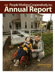Annual Report - People Working Cooperatively