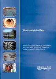 Water safety in buildings - libdoc.who.int - World Health Organization