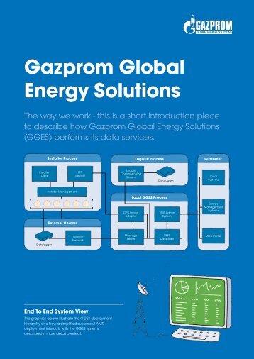 Gazprom Global Energy Solutions - Gazprom Marketing & Trading