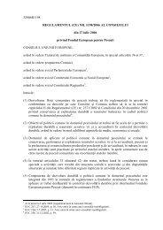 regulamentul (ce) nr. 1198/2006 al consiliului - MADR