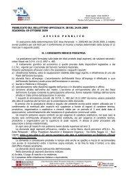 PUBBLICATO SUL BOLLETTINO UFFICIALE N. 38 DEL ... - ASL AL