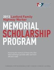 2013 Lanford Family Highway Worker - Wahoo Public Schools