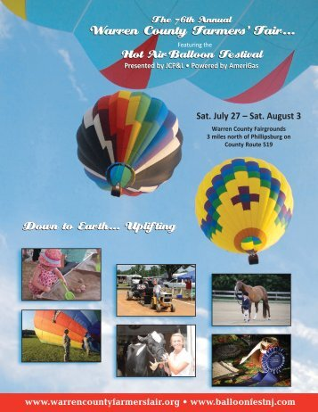 Download the Program Book (pdf) - Warren County Farmers Fair