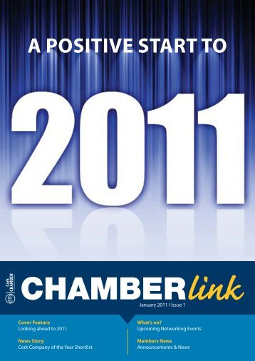 A POSITIVE START TO - Cork Chamber of Commerce
