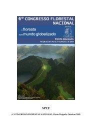 6º CONGRESSO FLORESTAL NACIONAL, Ponta Delgada ... - ESAC