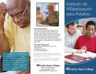Instituto de Alfabetización para Adultos - Prairie State College