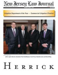 Litigation Department of the Year — Commercial Litigation (Finalist)