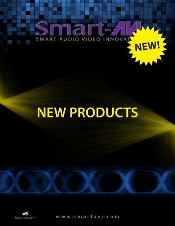 NEW PRODUCTS - SmartAVI