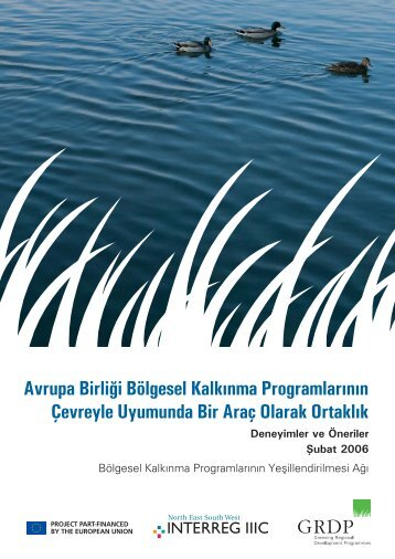 Avrupa Birliği Bölgesel Kalkınma Programlarının ... - REC Türkiye