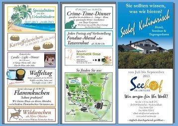Download der Angebote im pdf-Format - Seehof am Aartalsee
