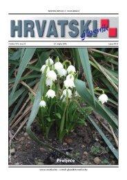 12. broj 23. ožujka - Croatica Kht.