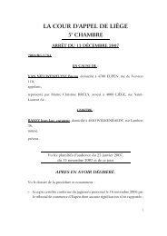 Traduction française - Juridat