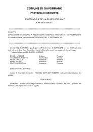 Concessione patrocinio a Associazione Nazionale Pensionati ...