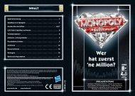 Spielanleitung herunterladen - Monopoly