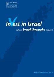 III brochure 07.FH11 - Invest in Israel