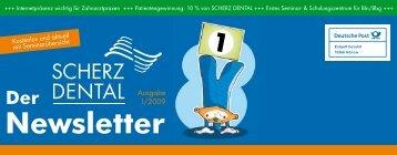Download Newsletter 01/2009.pdf - Scherz Dental