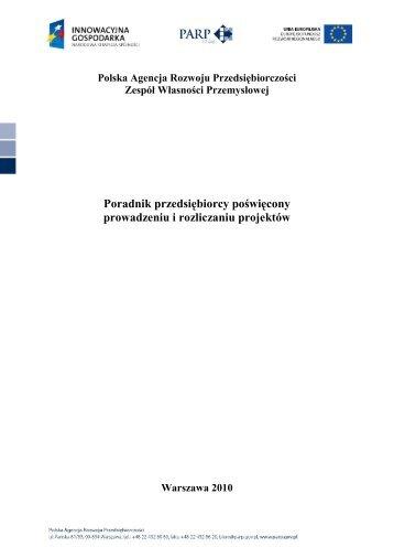 pobierz plik - Polska Agencja Rozwoju Przedsiębiorczości