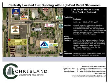 Centrally Located Flex Building with High-End Retail - Northern ...