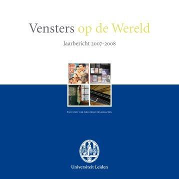 Vensters op de Wereld - Universiteit Leiden