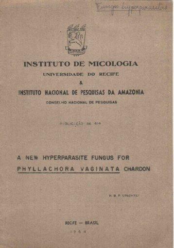 INSTITUTO DE MICOLOGIA - Batista