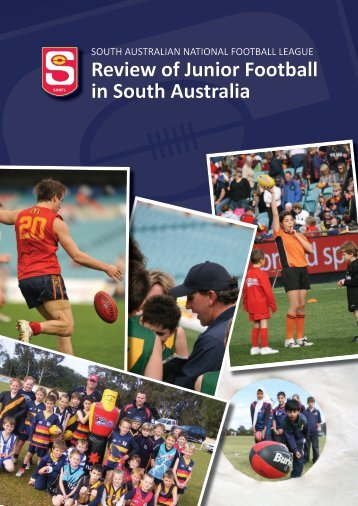Review of Junior Football in South Australia - sanfl