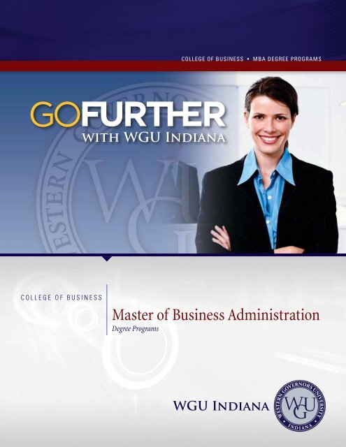 Master of Business Administration - Indiana Online University
