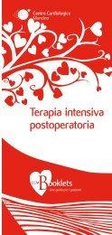Terapia intensiva postoperatoria - Centro Cardiologico Monzino