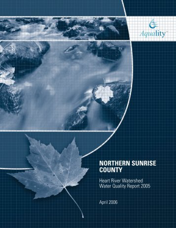 Heart River Water Quality Report 2005 - Aquality Environmental ...