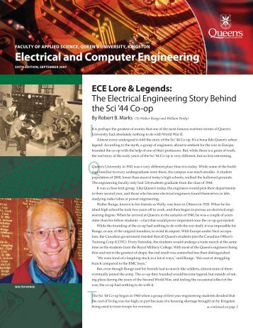 Sixth Edition - Electrical and Computer Engineering - Queen's ...