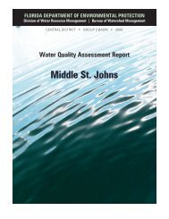Middle St. Johns - Florida Department of Environmental Protection