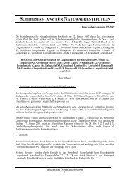 Entscheidung Nr. 325/2007 - Nationalfonds