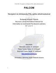 2007 OTDK dokumentáció - Informatikai Automatizált Rendszerek...