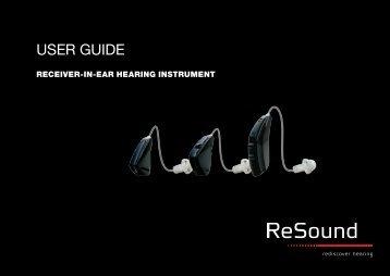 USER GUIDE - GN ReSound