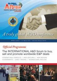 Review 2012 Programme - APPEX London