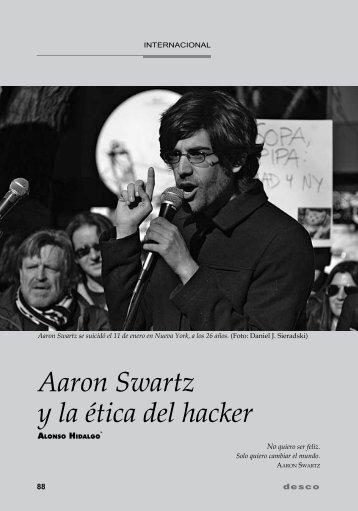 Aaron Swartz y la ética del hacker - Desco