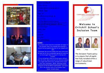 inclusion brochure staff photos - Somerset Learning Platform