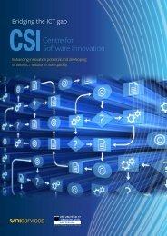 CSI - Bridging the ICT gap brochure - UniServices