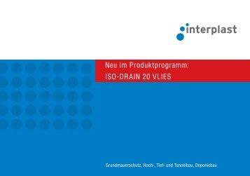 ISO-DRAIN 20 VLIES - INTERPLAST Kunststoffe GmbH