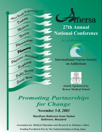 Promoting Partnerships For Change - AMERSA