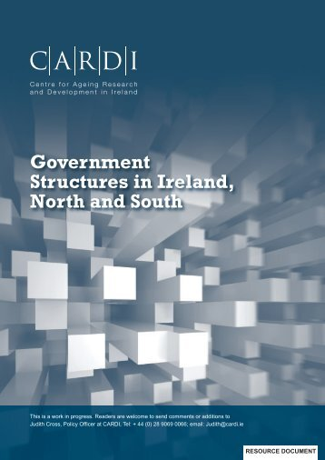 Government Structures in Ireland, North and South - CARDI