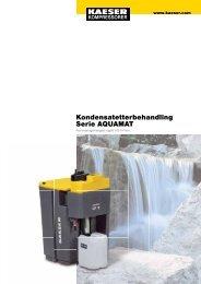 Kondensatetterbehandling Serie AQUAMAT - KAESER Kompressorer