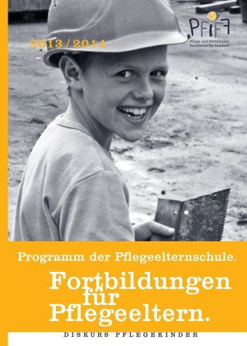 Fortbildungen für Pflegeeltern. - PFIFF gGmbH Hamburg