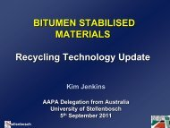 BITUMEN STABILISED MATERIALS Recycling ... - Aapaq.org
