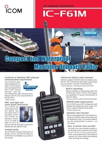 PDF -IC-F61M - VHF Group AS