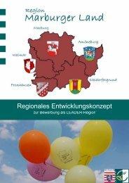 Regionales Entwicklungskonzept Marburger Land - Region ...