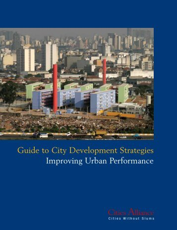 Guide to City Development Strategies Improving Urban Performance