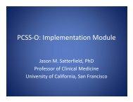 PCSS-O: Implementation Module