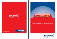 OGLA©AMO SE NAMESTO VAS. - Telekom Slovenije