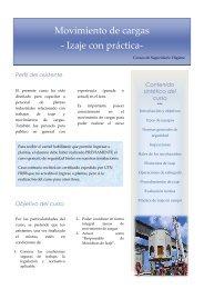 Información complementaria Izaje - UTN FRBB