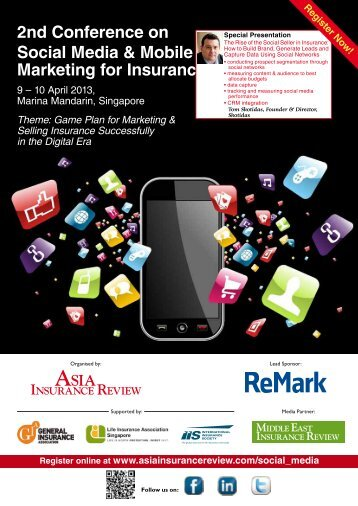 2nd Conference on Social Media & Mobile Marketing for Insurance
